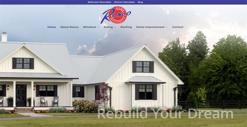 Ronco Website Design