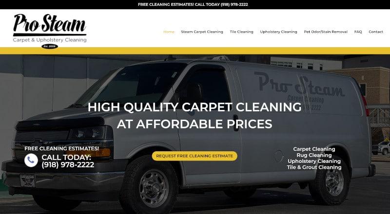 Carpet Web Design
